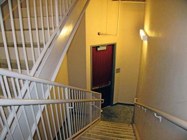 stairwell fire doors